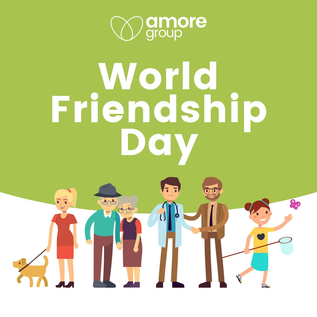 Reach out on World Friendship Day