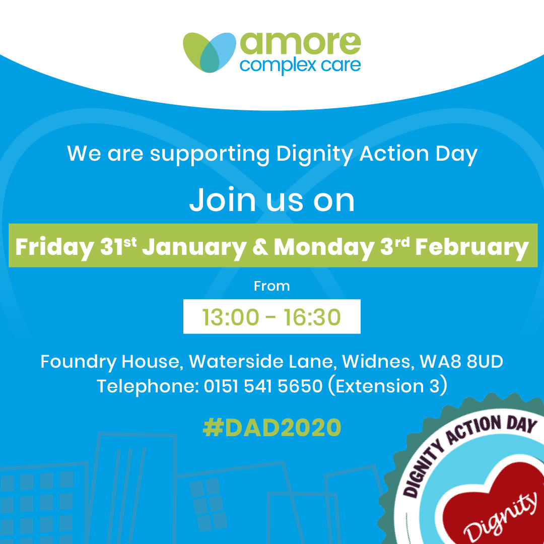 Amore Complex Care Supports Dignity Action Day
