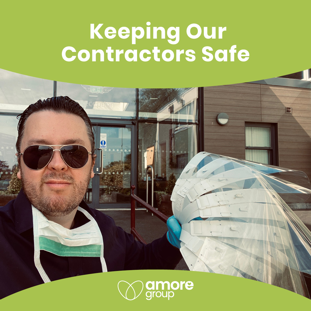Keeping Our Contractors Safe!