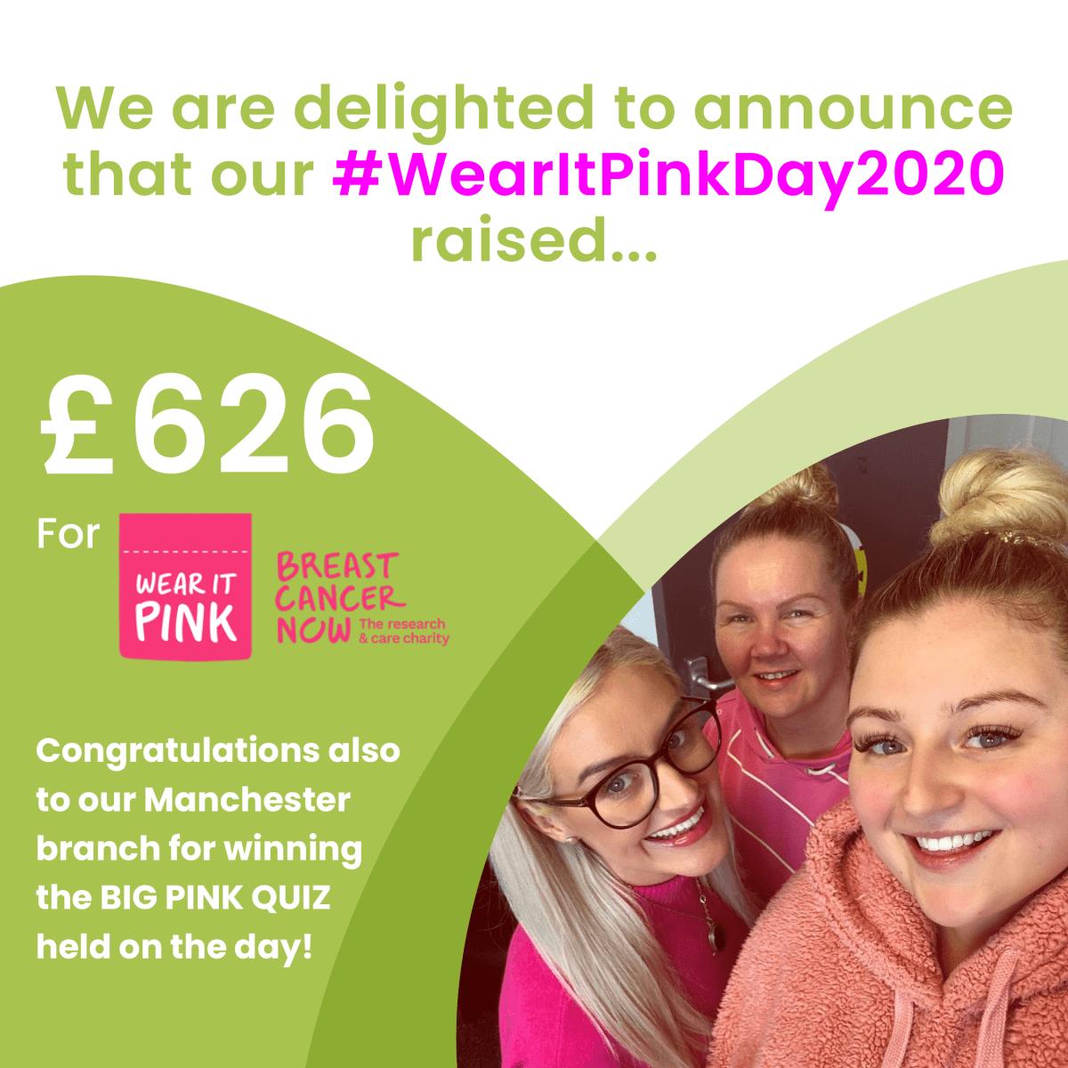 Wear it Pink Day Update