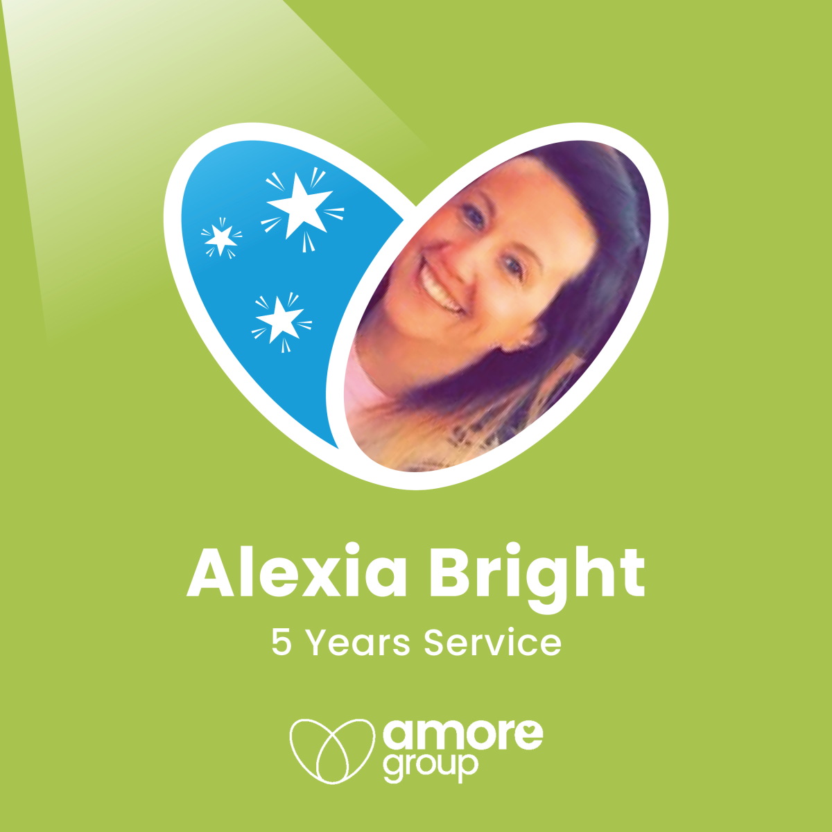 Congratulations Lexi on 5 years service at Amore!