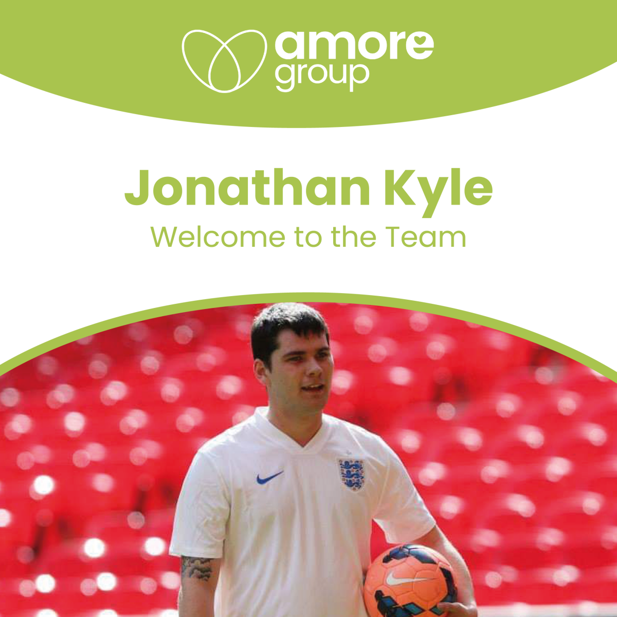 Welcome to the team Jonathan Kyle!