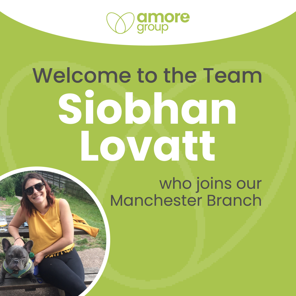 Welcome to the team Siobhan Lovatt!