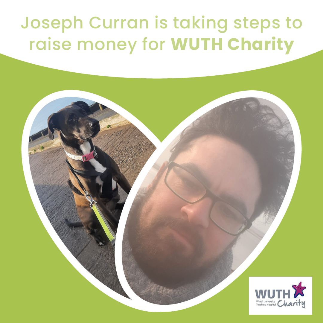 Joseph Curran is taking steps to raise money for WUTH Charity