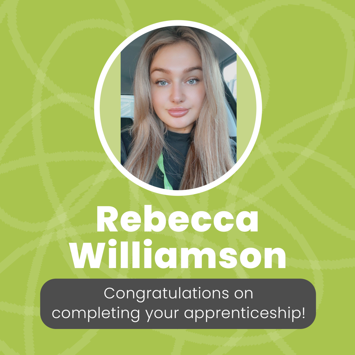 Rebecca Williamson joins our Payroll department